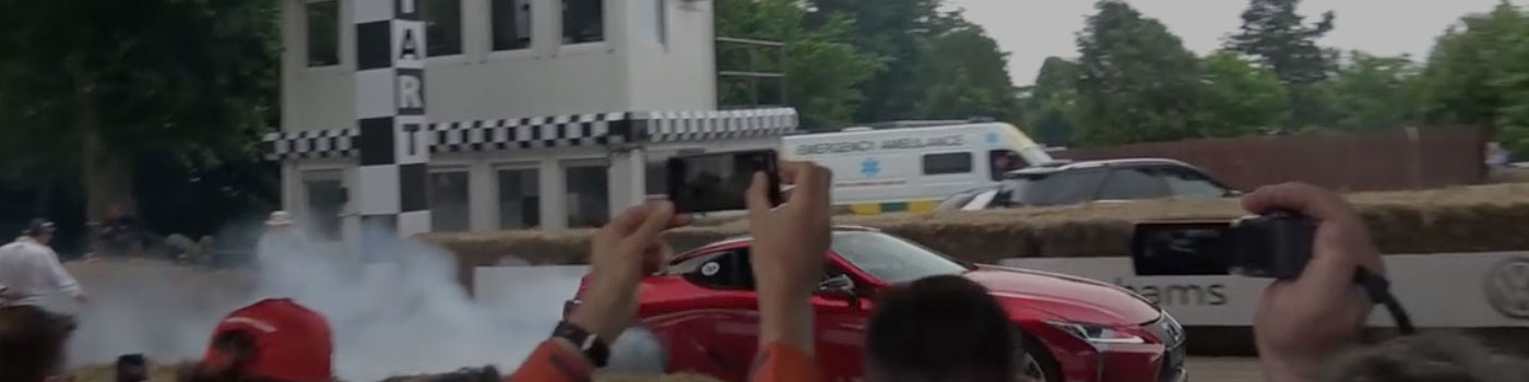 Video: The Lexus LC 500 Attacks the Goodwood Hillclimb