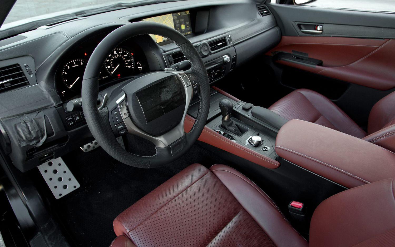 All New 2012 Lexus Gs Interior Spy Pictures Autotribute