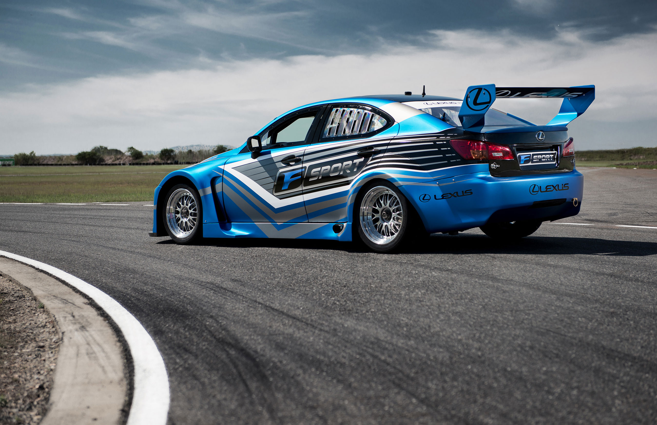 ... Lexus of Brisbane has purchased three Lexus IS F-based race cars