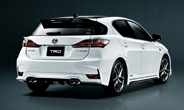 trd japan announces lexus ct 200h f sport accessories lexus enthusiast. Black Bedroom Furniture Sets. Home Design Ideas
