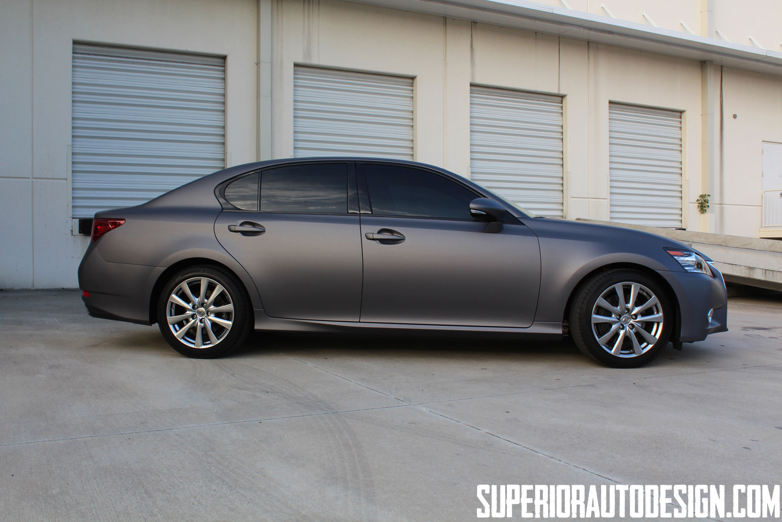 Gs Auto Sales >> Photos: Matte Grey Lexus GS in Miami | Lexus Enthusiast