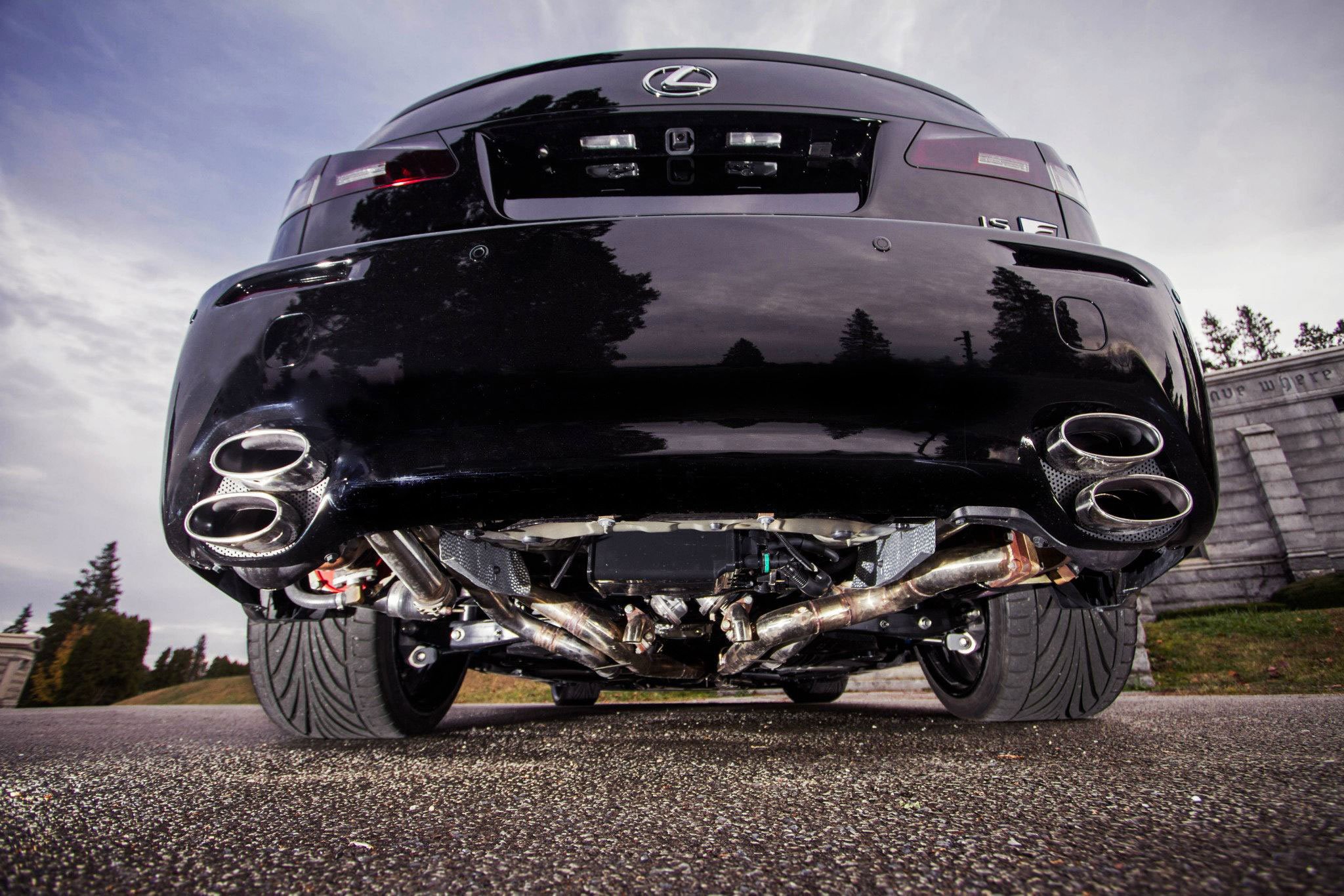 Photo Gallery Blacked Out Twin Turbo Lexus Is F Lexus
