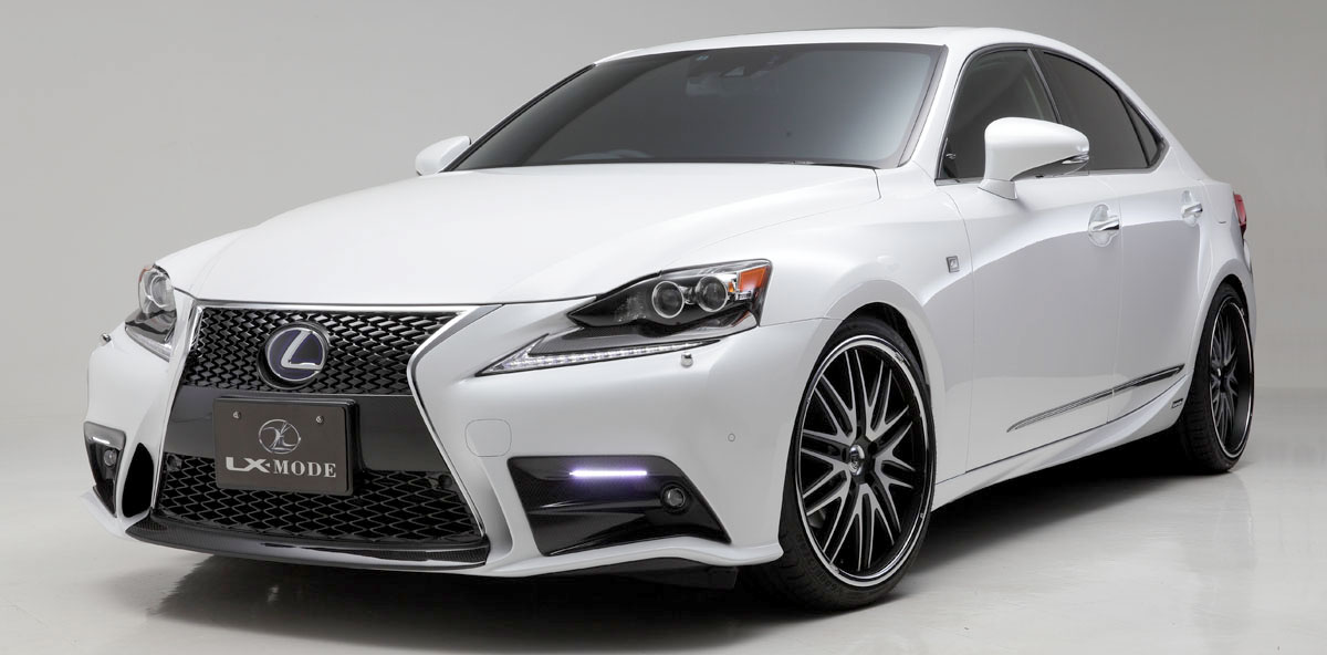 new lexus is f sport body kit from lx mode lexus enthusiast. Black Bedroom Furniture Sets. Home Design Ideas
