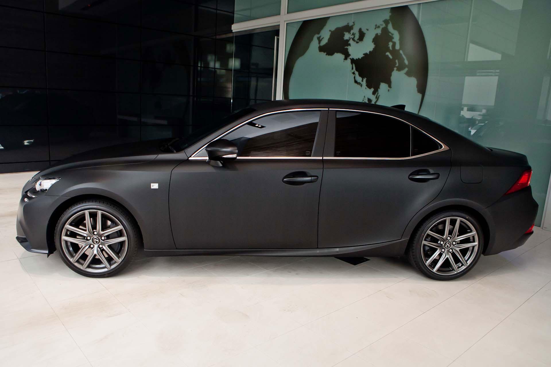 2014 Lexus Gs 350 For Sale >> Photo Gallery: 2014 Lexus IS 350 F SPORT in Matte Black ...