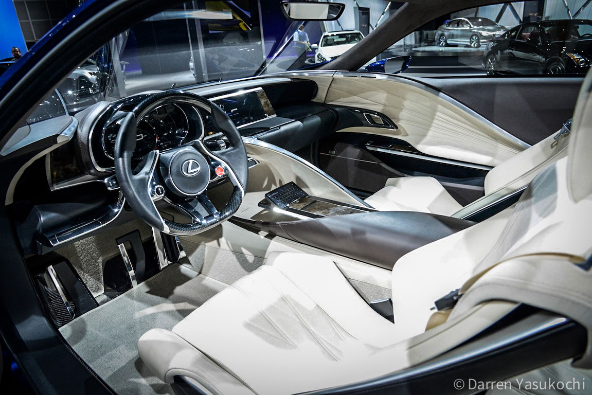 photo gallery lexus lf lc blue at the la auto show lexus enthusiast