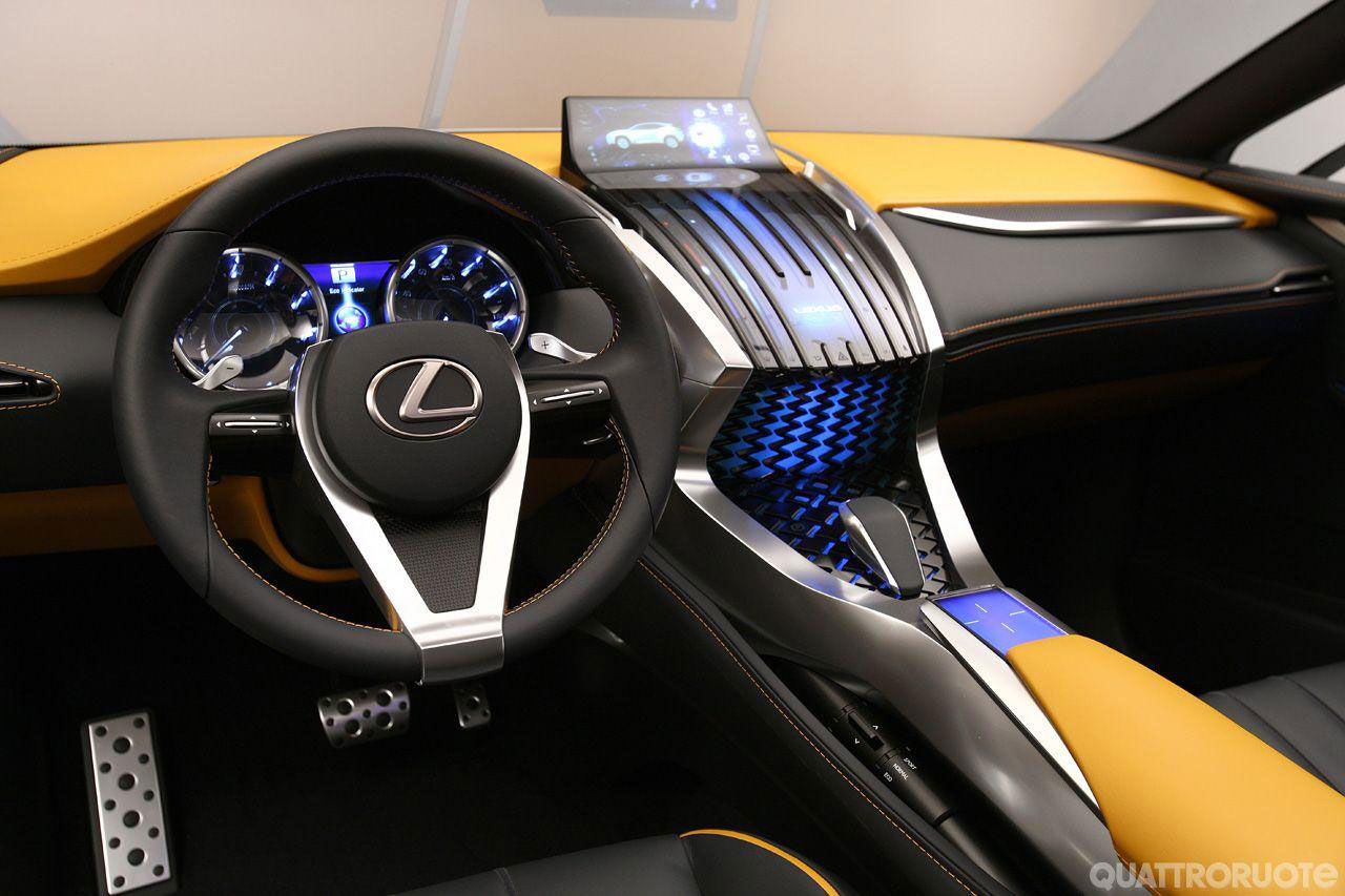 lexus lf nx interior images galleries with a bite. Black Bedroom Furniture Sets. Home Design Ideas