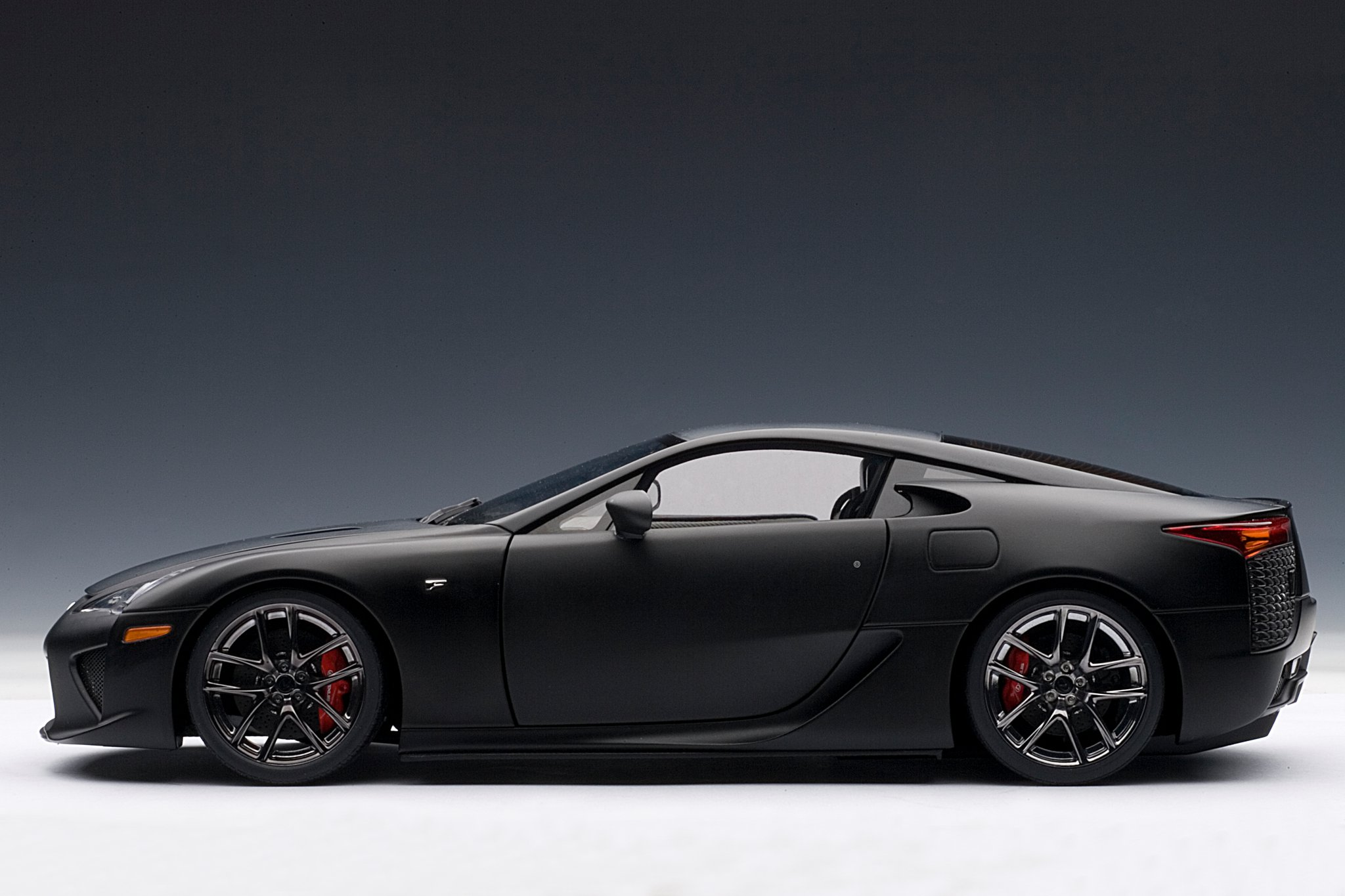 Matte Black Lexus Lfa Die Cast Model By Autoart Lexus