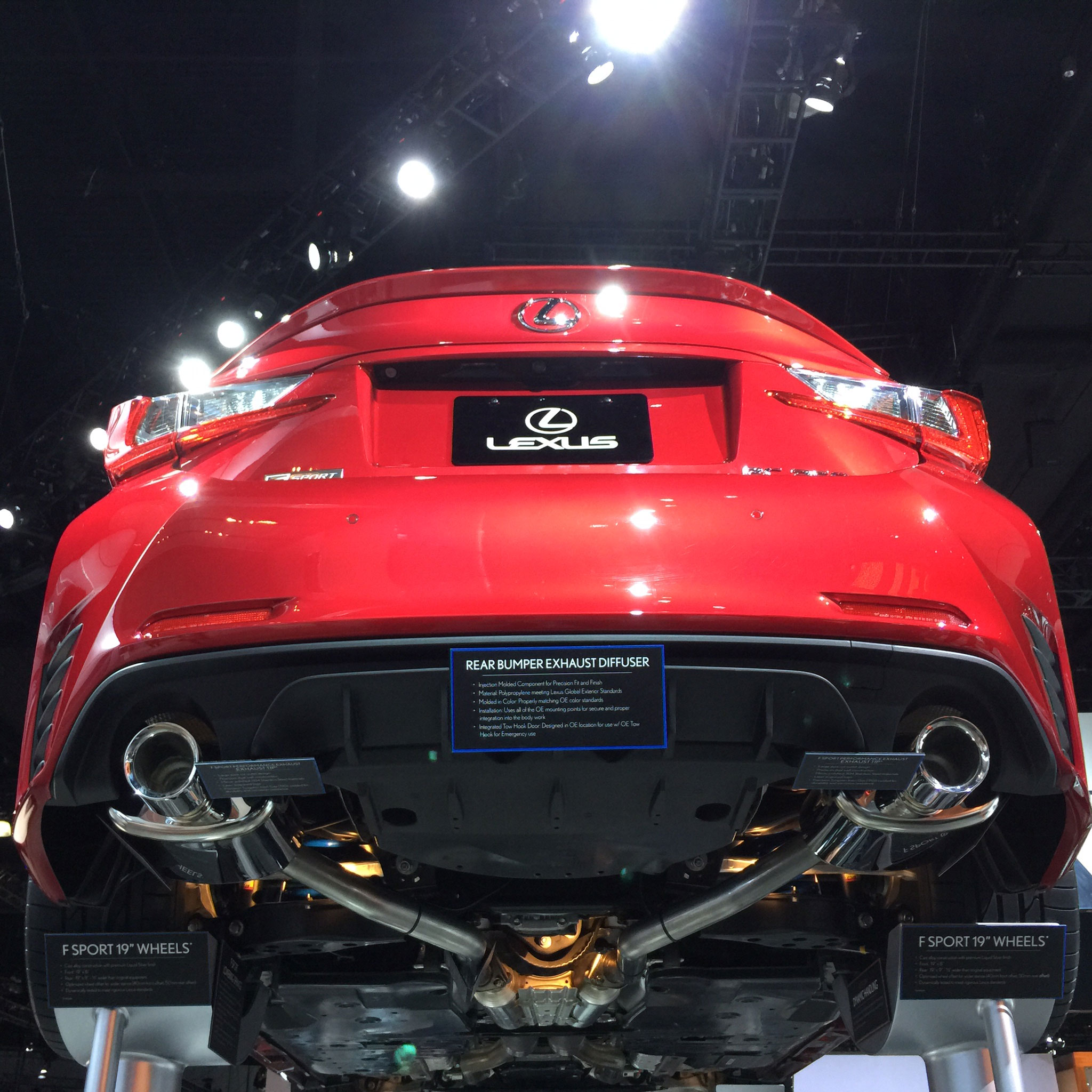Lexus Performance: Lexus RC F SPORT Parts Debut At LA Auto Show