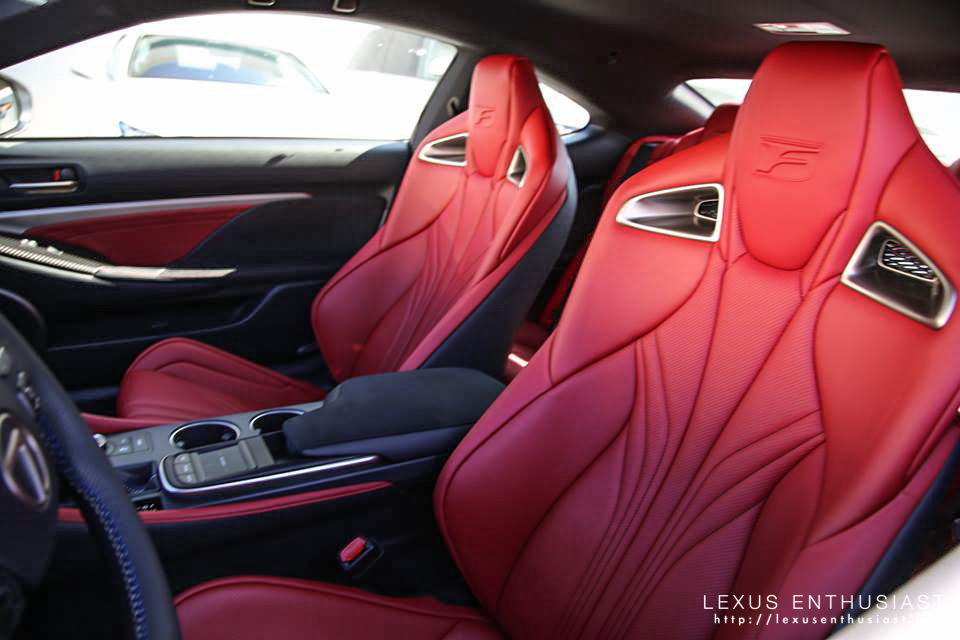 Loving The Red Lexus Rc350 Rcf Forum