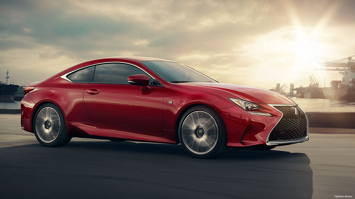 lexus usa website updated with rc 350 rc f information photos lexus enthusiast. Black Bedroom Furniture Sets. Home Design Ideas