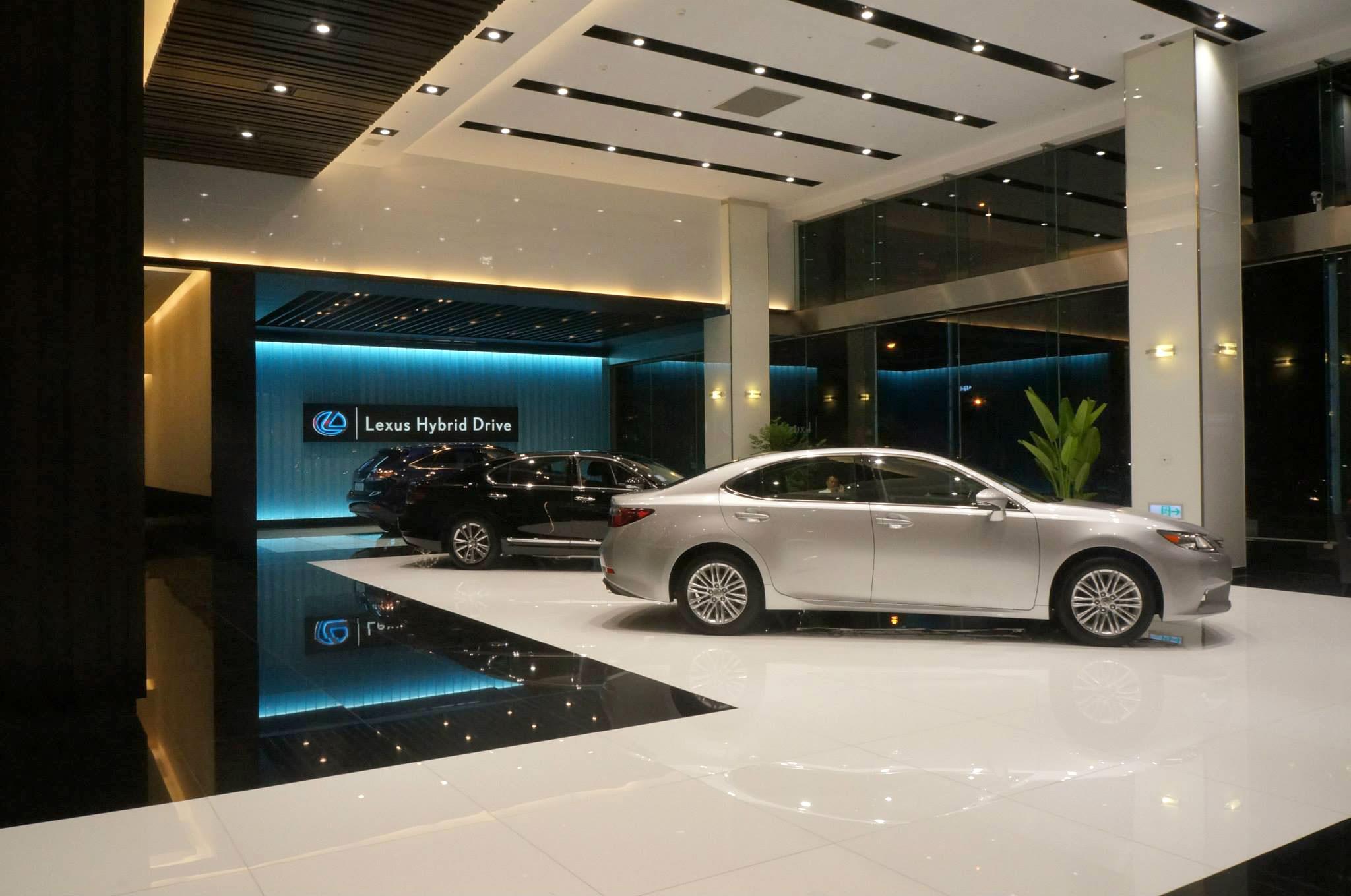World's st Lexus Showroom Opens in Taiwan