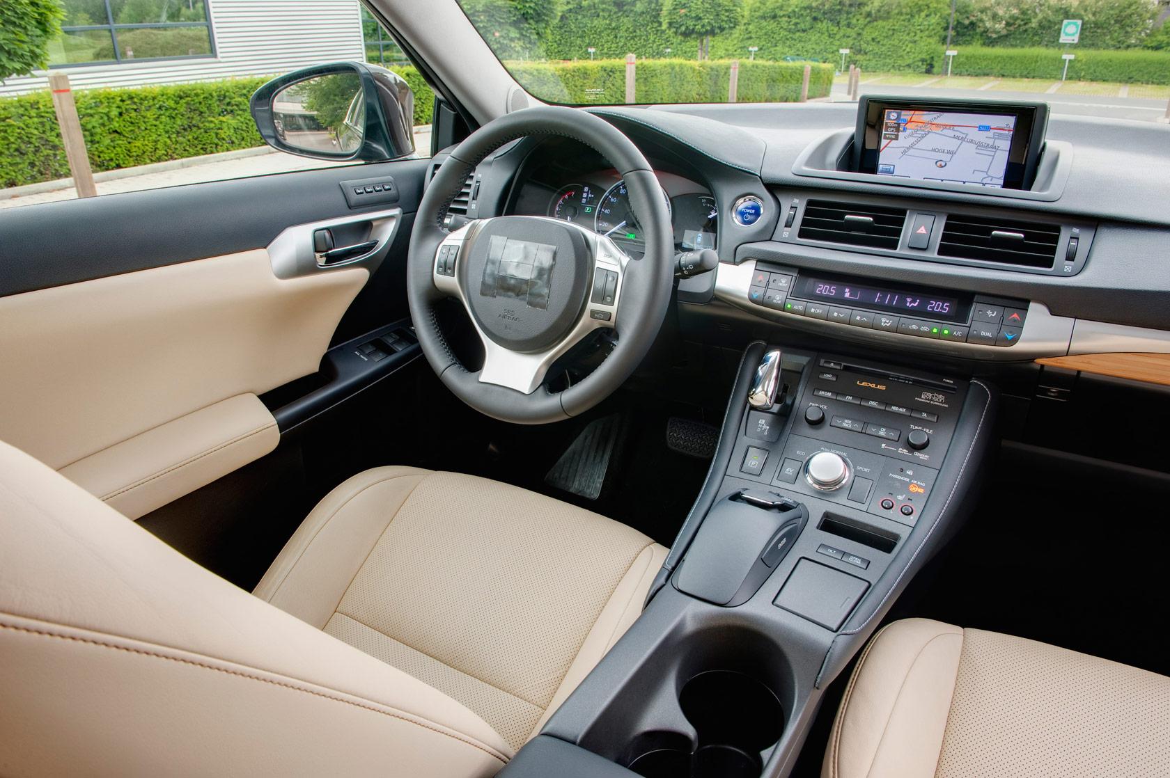 Live lexus ct 200h interior photos lexus enthusiast for New interior