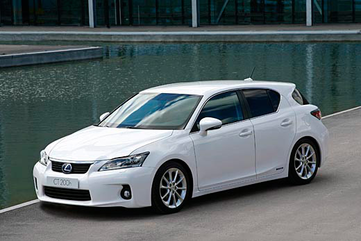 Lexus Ct 200H Outside 1