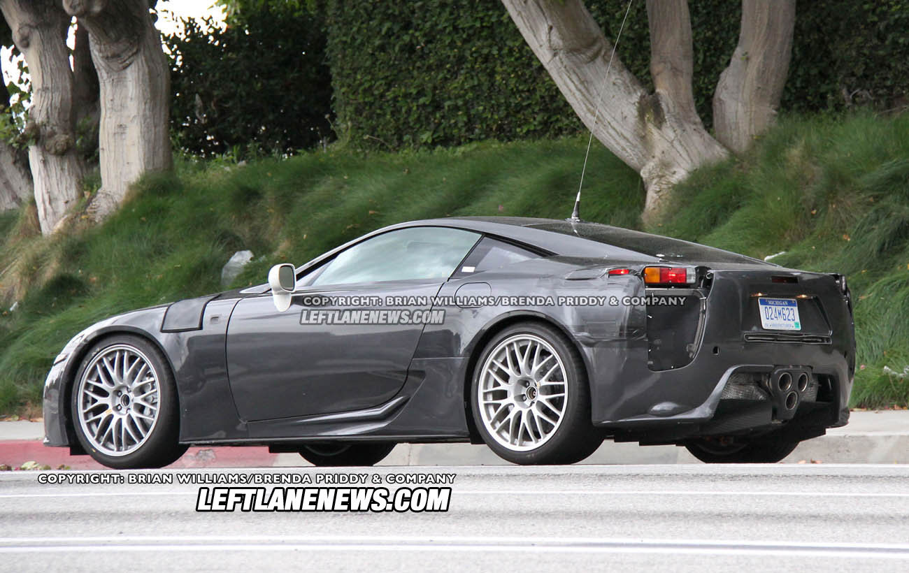 The Outer Shell Looks Cast Off Of An Old LFA Prototype, And Has Camouflaged  Section On The Front Left Fender That Could Indicate A Electric Plug, ...