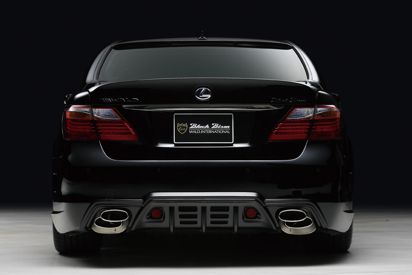 Lexus Ls 600hl Sports Line Black Bison Body Kit By Wald