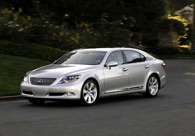 The Lexus LS600h is one of 2008's Most Anticipated Luxury Cars