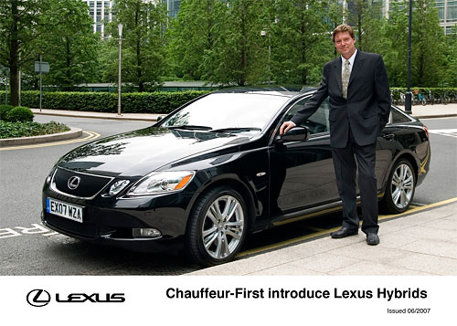 UK Chauffeurs Prefer Lexus First