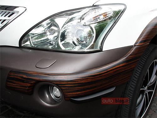 Wood Lexus RX 400h Detail