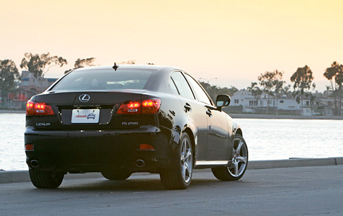 The Lexus IS 250 with X Sports Package