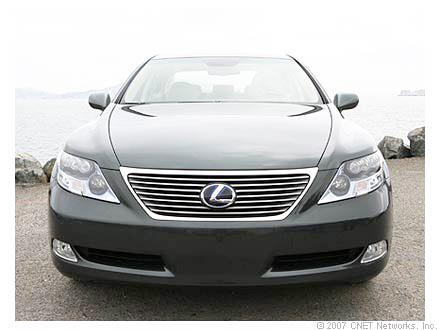 The Lexus LS 600h