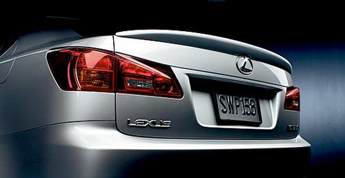 Lexus Name Badge