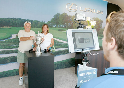 Lexus Performance Drive Photobooth