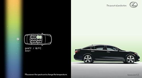Lexus Interactive Ad 4
