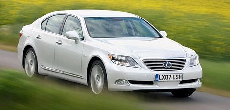 Lexus LS 600h L in Europe