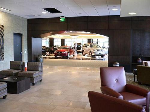 Lexus of Bellevue Lobby