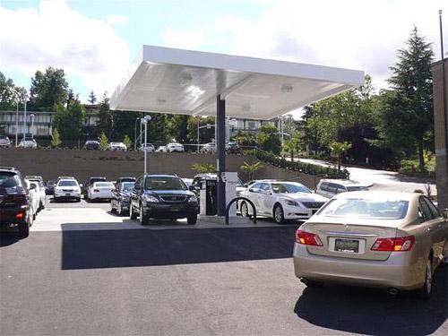 Lexus of Bellevue Gas Station