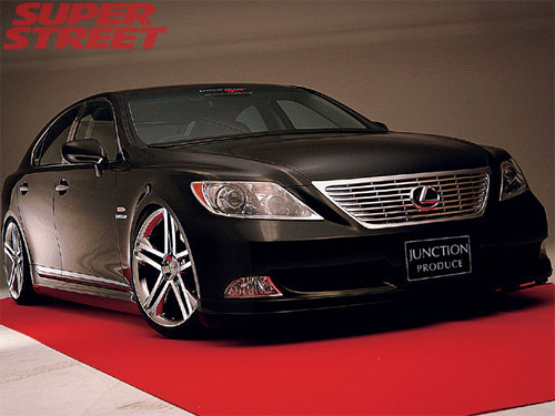 The Lexus LS 460 with Junction Produce Body Kit