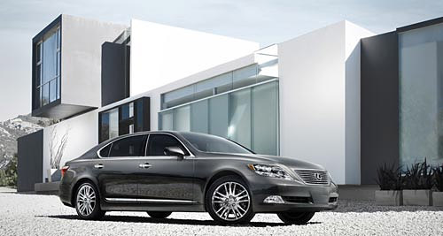 The Lexus LS 600hL
