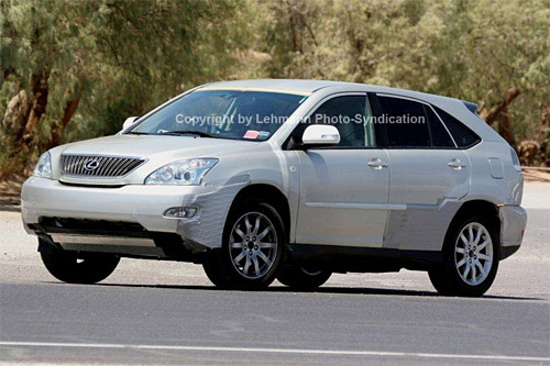 Spy Shot of the Next Gen Lexus RX