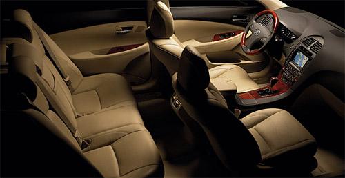 Lexus Is 350 Interior. Lexus ES 350 Interior