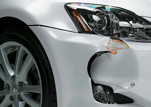 IIHS Low Impact Crash Study