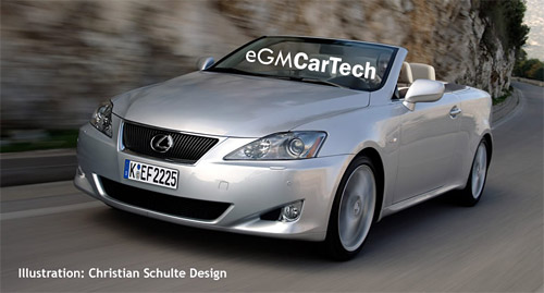 IS Convertible Concept by Christian Shulte Design