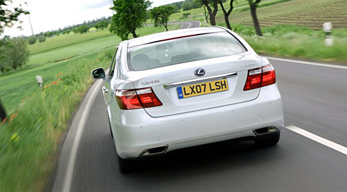 The Lexus LS 600hL