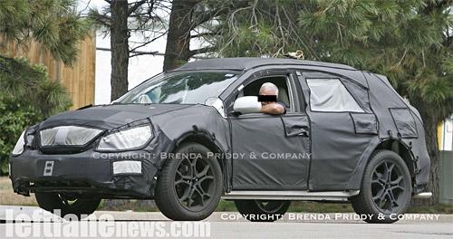 2009 Lexus RX Spy Shot