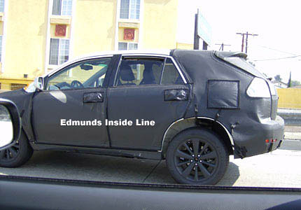 Yet Another 2009 Lexus RX Spy Shot