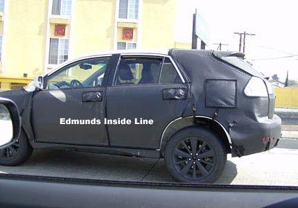 Yet Another 2009 Lexus RX Spy Shot
