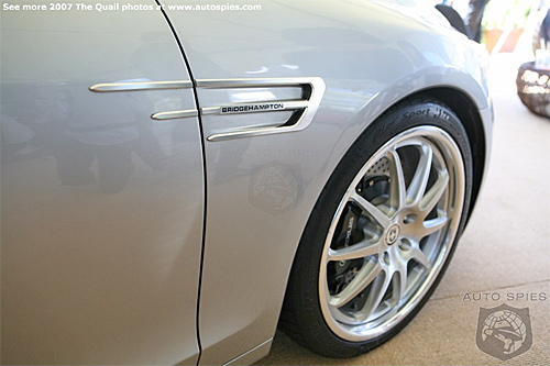 Close-up of the Lexus GS 450h Bridgehampton Concept