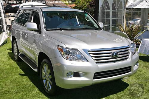 The 2008 LX 570