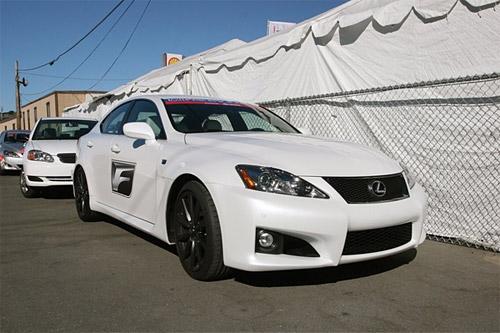 Lexus IS-F in White 3