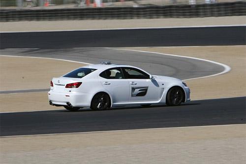 Lexus IS-F in White 2