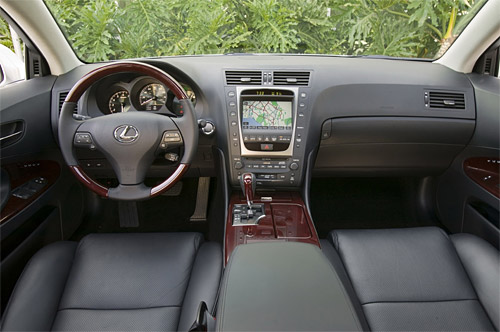 2008 Lexus GS Interior