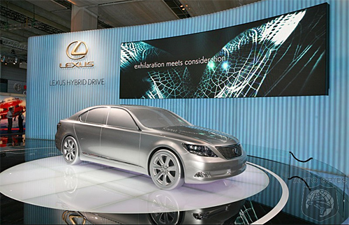 Lexus @ The 2007 Frankfurt Auto Show
