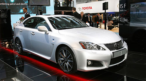 The White Lexus IS-F