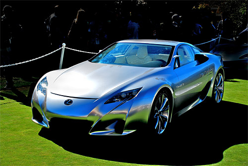 The Lexus LF-A (Photo by John Hietter)