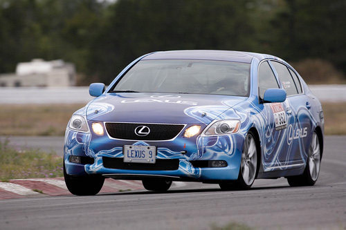 Lexus GS 450h in Targa Rally Race