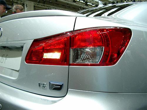 The Lexus IS-F @ SEMA 2007